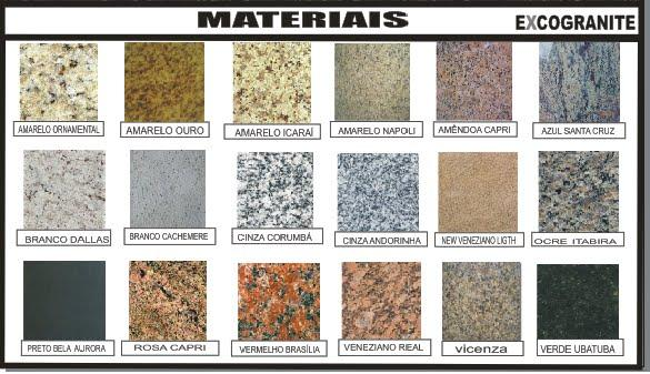 Novo piso polimentotipos de granito novo piso polimento for Modelos de granitos para pisos