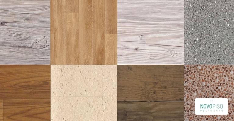 Novo piso polimentoas vantagens de se ter um piso vin lico for Modelos de granitos para pisos