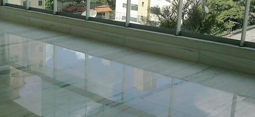 Polimento marmore
